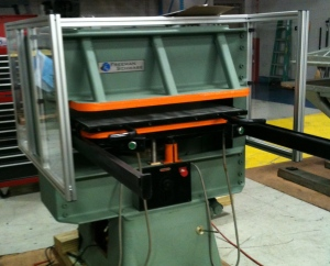 Schwabe DG Cutting Press Hydraulic Platen press