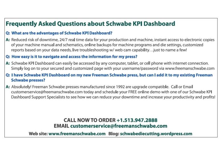Schwabe KPI Dashboard FAQ