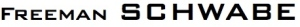 Freeman SCHWABE logo font