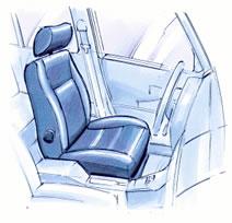 Auto Seats Spacer Mesh Mueller