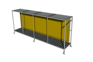Steel Rule Die Rack - Auxiliary Equipment supplied by Freeman SCHWABE