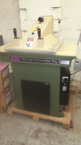 "Used SCHWABE Press For Sale ""as is"""