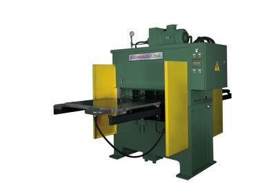 SCHWABE Model DG Upstroking Cutting / Molding Press