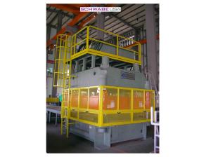SCHWABE USA Compression Molding 4 Post High Stroke Press