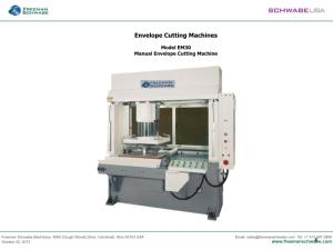 Envelope Cutting Presses