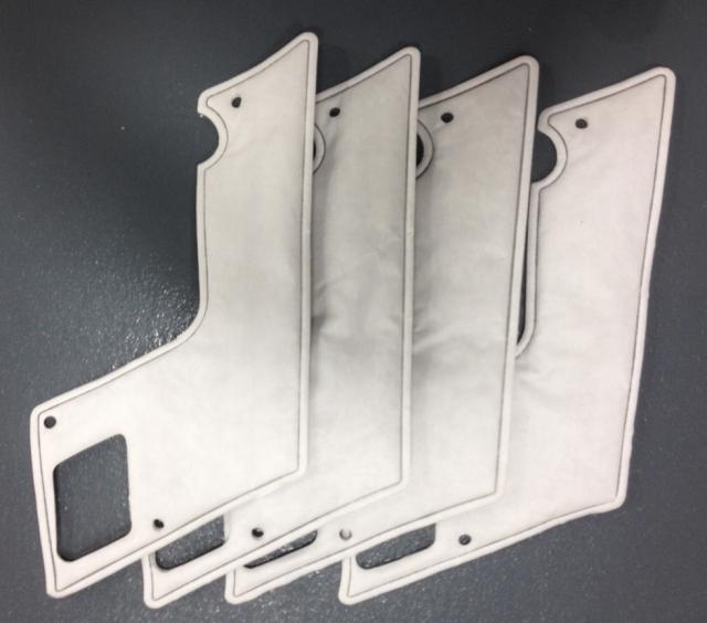 Schwabe - Heat Seal Die Cut Parts with Platen Press image