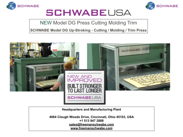UP-Stroking Die Cutting, Mold and Trim Press