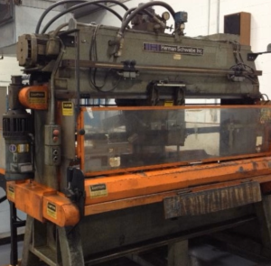 Herman Schwabe Automatic 2-Axis Traveling Head A4A Press