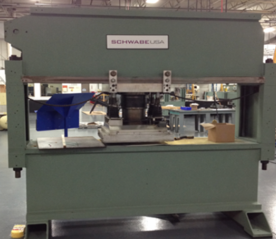 OEM Re-Manufactured SCHWABE Automatic 2-Axis Traveling Head Press