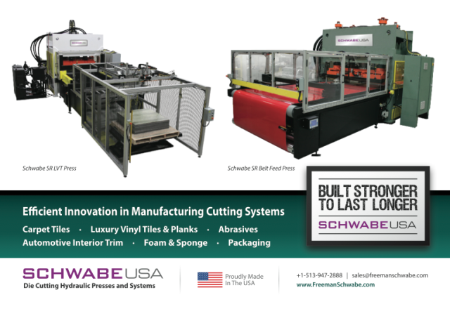 Freeman Schwabe USA amanufacturing cutting systems