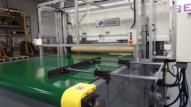 Full Head Model FH - 200 Pinch Roll In + Out cutting Foam Planks