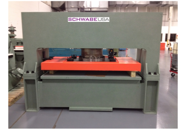 ReManufactured Schwabe SR 230 Hydraulic Beam Press