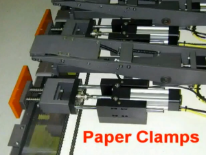 Paper Clamps on EA 25 1