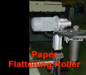Paper Falttening Roller