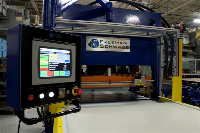 Straight Ram Beam Hydraulic Cutting Press With Powered