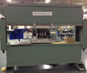 OEM Re-Manufactured with 1 Year Warranty SCHWABE Automatic 2-Axis Traveling Head Press
