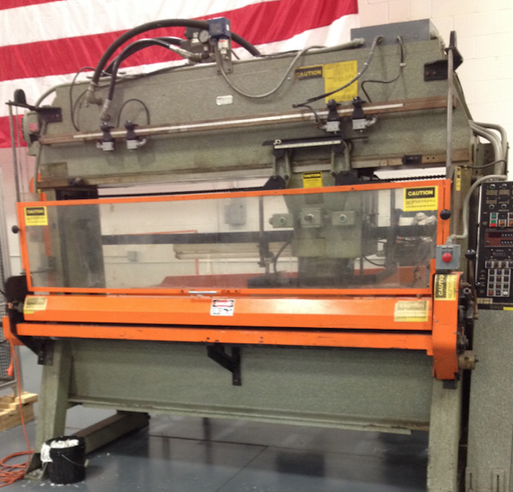USED SCHWABE A4A Traveling Head Hydraulic Cutting Press - May 2015 $31,995