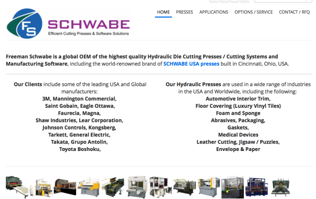 Freeman Schwabe website NEW Home Page