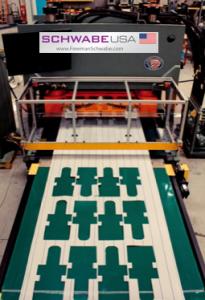 Photo press with Logo