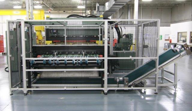 Image of scrap conveyor flooring SCHWABE USA