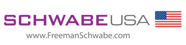 White SCHWABE USA logo