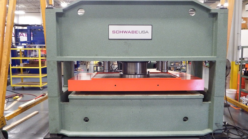 Remanufactured Straight Ram Hydraulic Beam Press