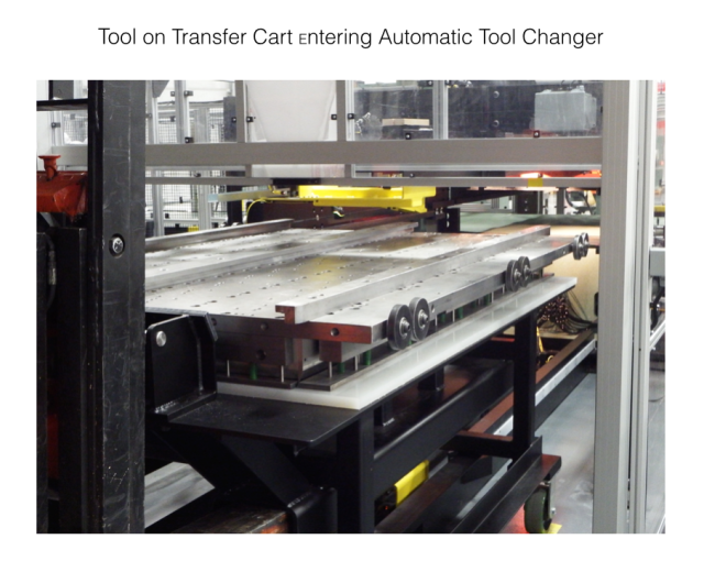 Die Transfer cart
