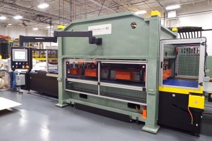 Straight Ram Hydraulic Beam Press