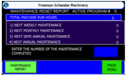 5- MAINTENANCE TRAckier
