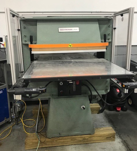 For Sale - USED SCHWABE USA - Hydraulic Up-Stroking Cutting Press