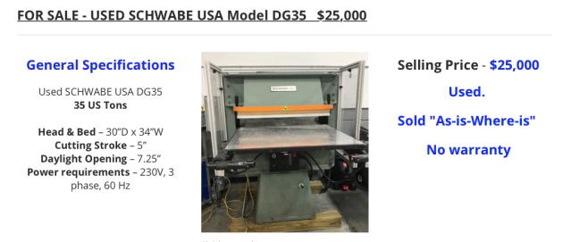 DG35 Used
