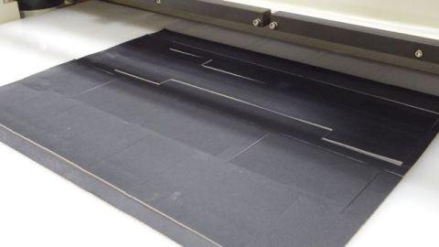 cut material demo