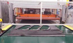 Cutting Trim Parts on Ground Steel
