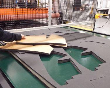 Die Cutting on Steel
