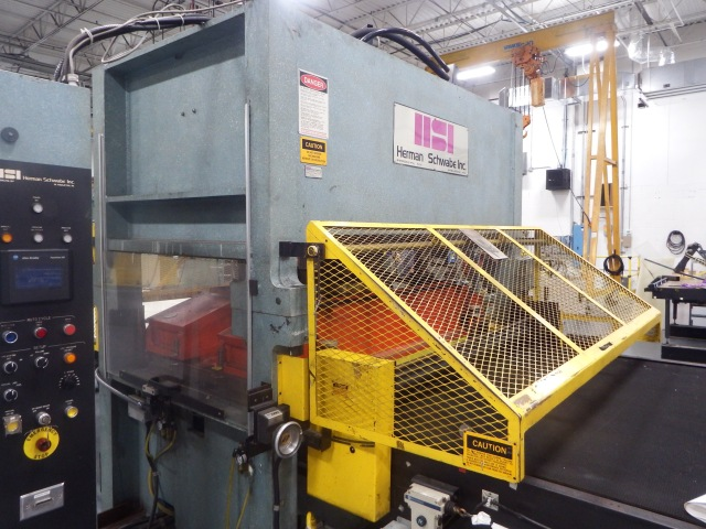 "SR 230 tons USED SCHWABE Press For SALE with Head/Bed: 64""W x 40""D $65,000"