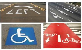 Thermo Plastics Road Markeings